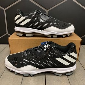 New Adidas Poweralley 4 TPU Molded Baseball Cleats